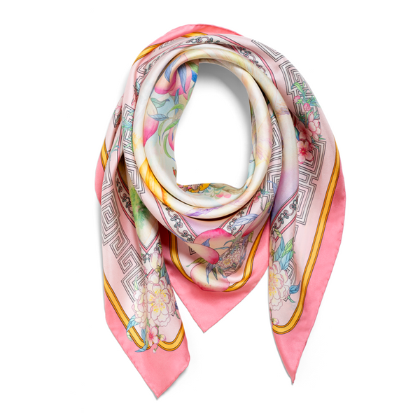 The Peaches of Immortality Scarf