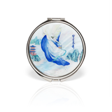 Phoenix of the Sapphire World Compact Mirror