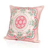 Courtyard Elegance Cushion Cover - Pink