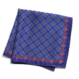A Manchurian Stroke of Luck Pocket Square - Purple