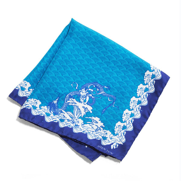 Ne Zha Churns The Sea Pocket Square