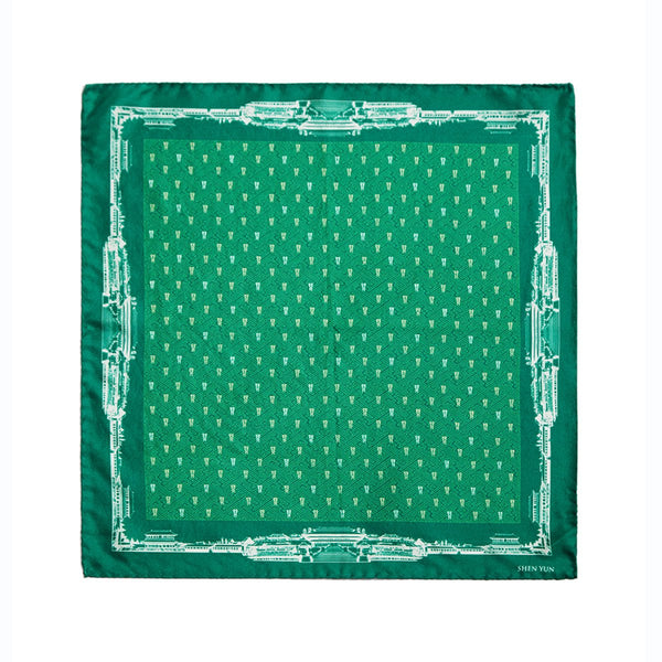 Spirit of the Han Dynasty Pocket Square - Green