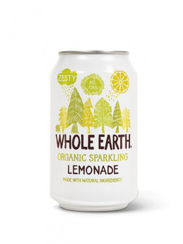 Refresco ecológico de limón Whole Earth