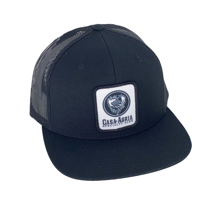 Classic Patch Hat: Black