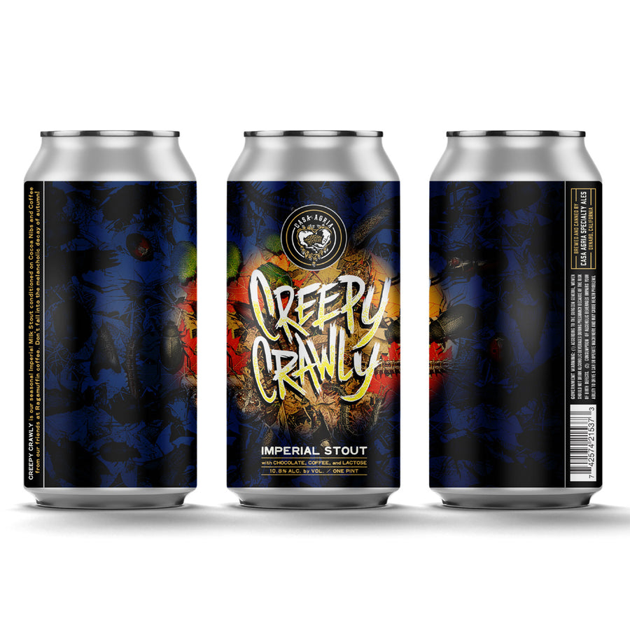 Creepy Crawly Imperial Stout: 4-Pack