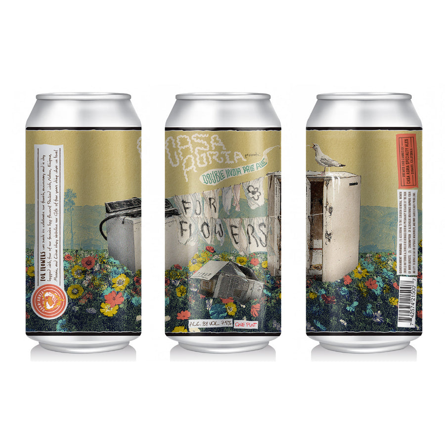 For Flowers Double Hazy IPA: 4-Pack