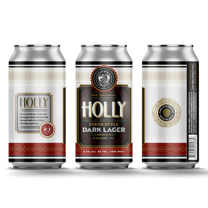 Holly Czech Style Dark Lager: 4-Pack