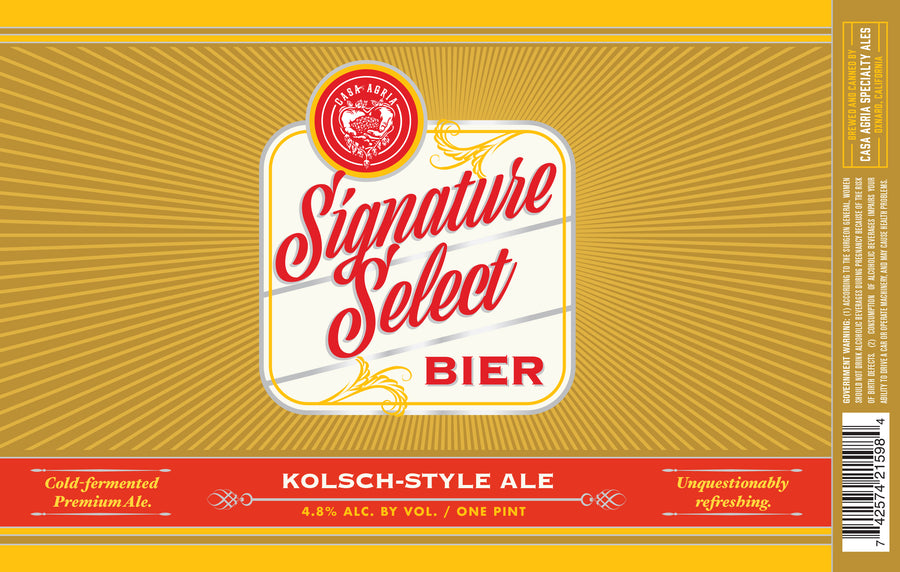Signature Select Bier: 4-Pack