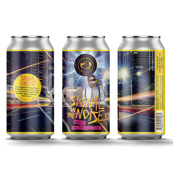 Signal in the Noise DDH Hazy Triple IPA: 4-Pack