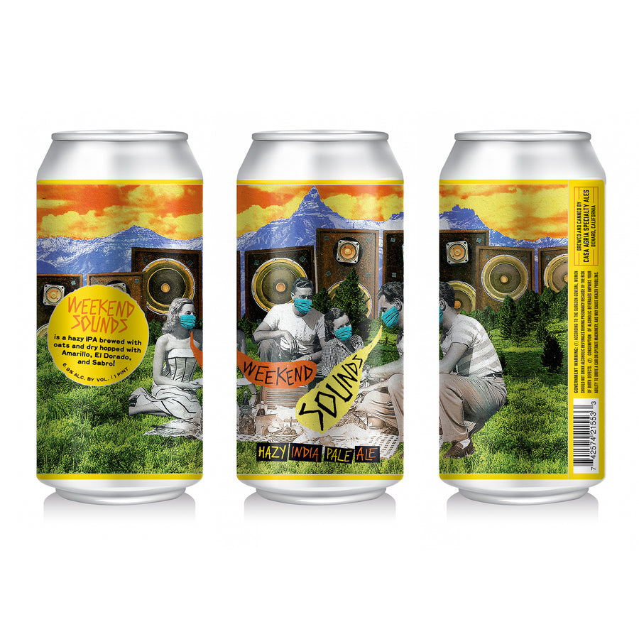 Weekend Sounds Hazy IPA: 4-Pack