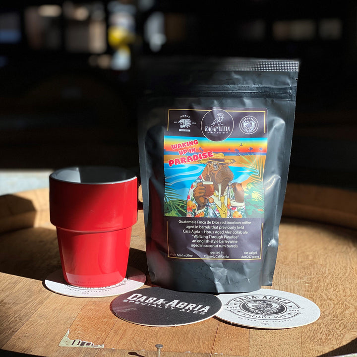 Waking up in Paradise - 8 oz. Whole Bean Coffee
