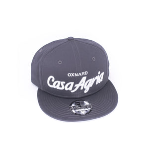 Classic Snapback: 9FIFTY Charcoal Grey