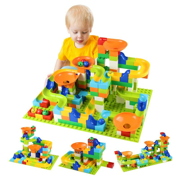 Track Diy Building Blocks Toy