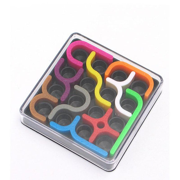 Creative 3D Intelligence Puzzle Toys