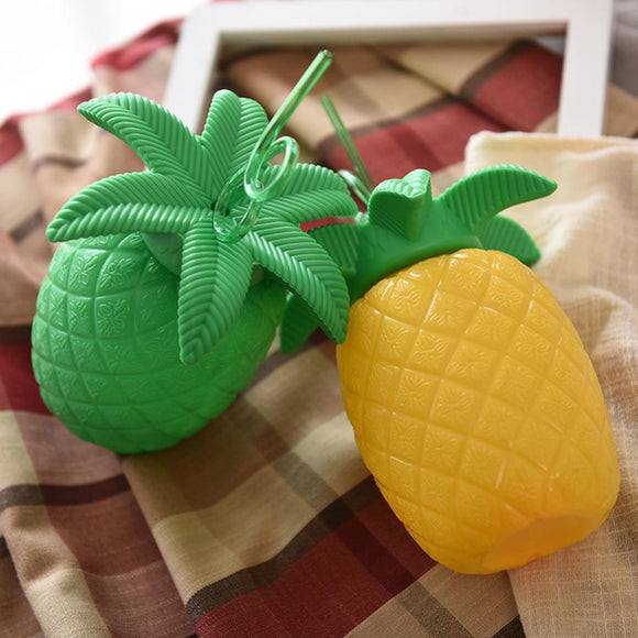 Pineapple Modeling Shape Straw Cup