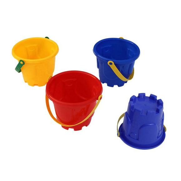 Beach Toys Plastic Castle Bucket