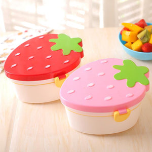 Lovely Strawberry Lunch Box