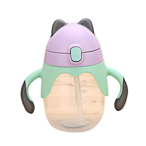 Baby Drinking Water Handle Bottle