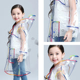 Transparent Raincoat Kids