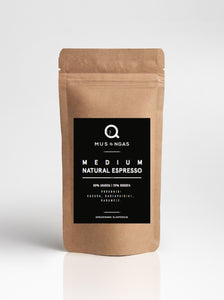 MEDIUM NATURAL ESPRESSO