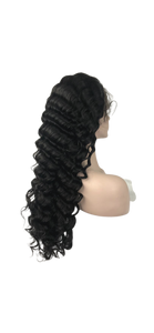 Pineapple Wave Lace Front Wig