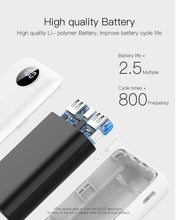 Load image into Gallery viewer, 10000mAh 220g Weighs Dual Power bank