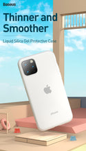 Load image into Gallery viewer, Luxury Soft Liquid Silicone Phone Case For iPhone