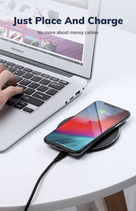 High Efficient Wireless Charger Suitable For All Phones