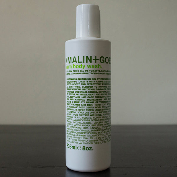 Rum Body Wash Malin+Goetz (8 oz)