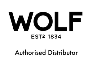 WOLF logo authorised distributor picture for Elite Watch Winders and Safes home page. www.elitesafes.co.uk