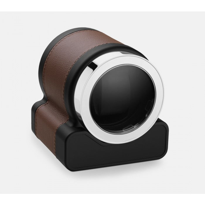Scatola del Tempo Rotor One Chesnut Leather Single Watch Winder