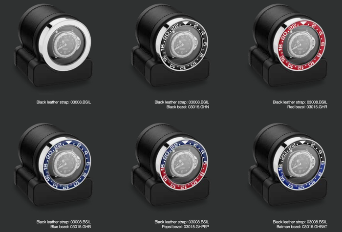 Scatola del Tempo Rotor One Bezel Options
