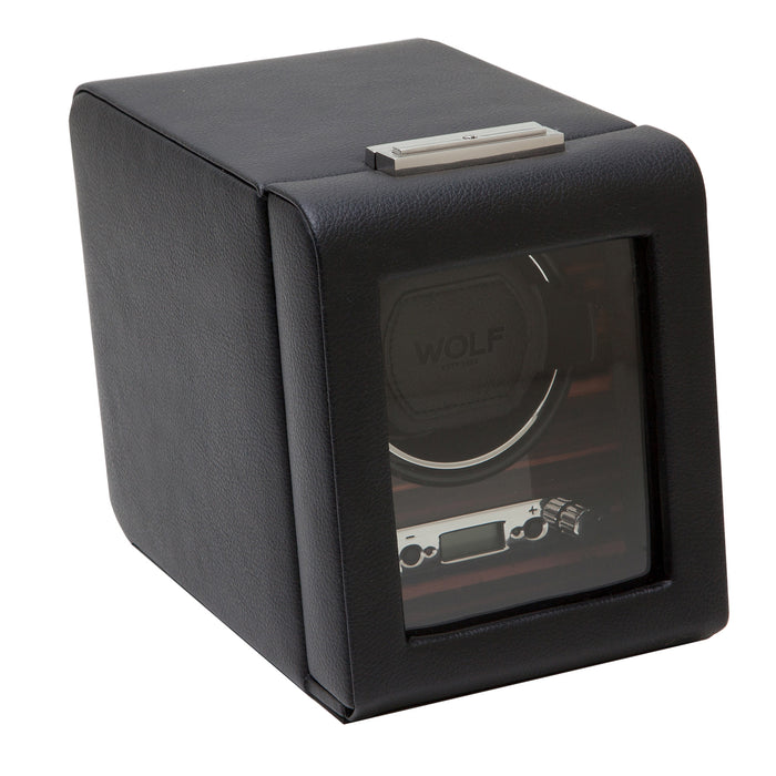 WOLF Roadster Black Single Watch Winder