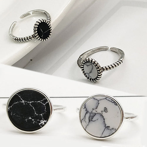 Silver Adjustable Gifts Ring