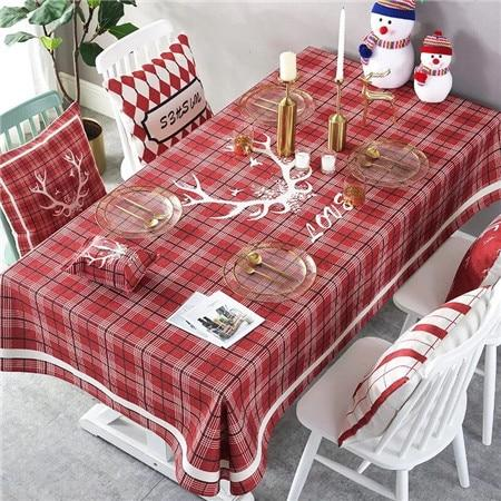 XYZLS Christmas Tablecloth