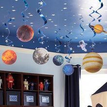 Load image into Gallery viewer, Space Theme Birthday Decorations