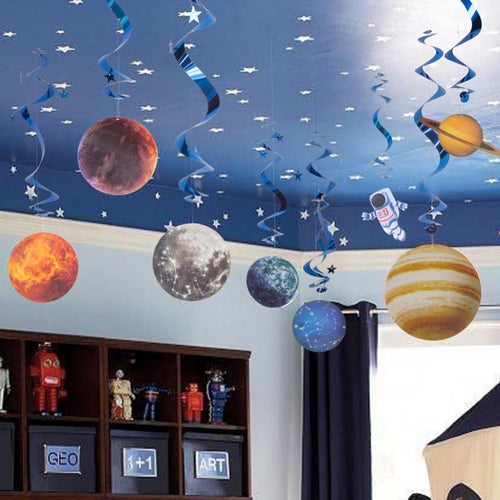 Space Theme Birthday Decorations