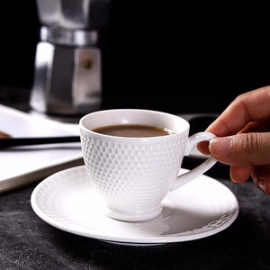 Noble Porcelain Espresso Coffee Cup