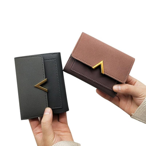 MINOFIOUS Short Women wallets