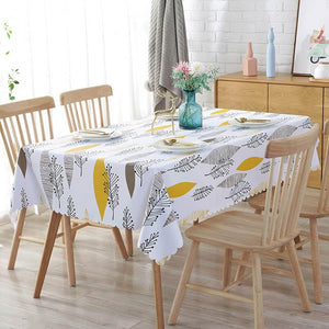 PVC Waterproof Tablecloths
