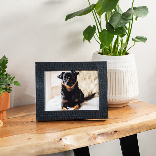 The Pacific Picture Frame in Navy