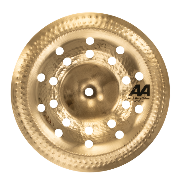 "SABIAN 10"" AA Mini Holy China - Brilliant"