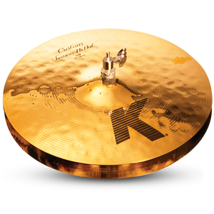 "ZILDJIAN 14"" K CUSTOM SESSION HIHAT - TOP"