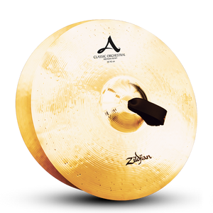 "18"" A Zildjian Classic Orchestral Selection Medium Heavy - Pair"