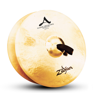"20"" A ZILDJIAN CLASSIC ORCHESTRAL SELECTION MEDIUM LIGHT - PAIR"