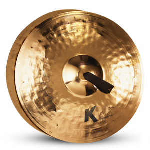 "ZILDJIAN 20"" K SYMPHONIC LIGHT BRILLIANT - PAIR"