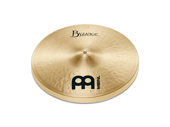 Meinl Byzance Traditional Medium Hihat, Pair 14
