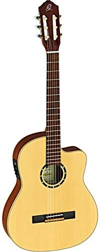 Ortega Guitars Family Series 6 String Acoustic-Electric Guitar, Right