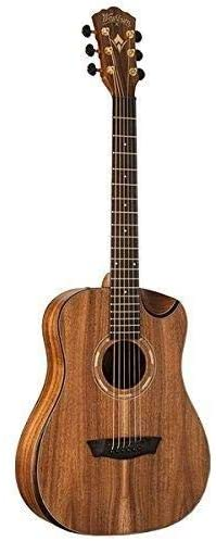 Washburn Comfort WCGM55K Mini ¾ Size Dreadnought Acoustic Guitar