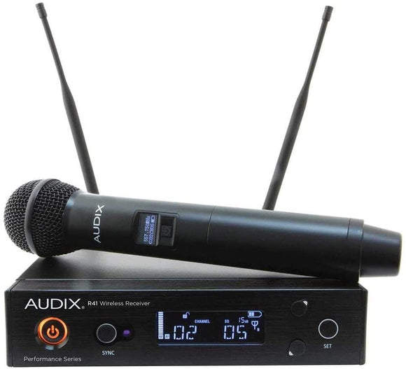 Audix AP41 OM2 Handheld Wireless System 518-554 MHz (AP41OM2A)
